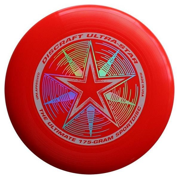 Frisbee Discraft Ultimate Ultra-star red