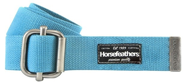 Pásek Horsefeathers Georgia caribbean blue