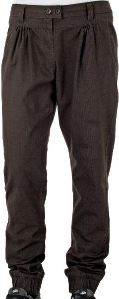 Kalhoty Funstorm Evelyn brown 25