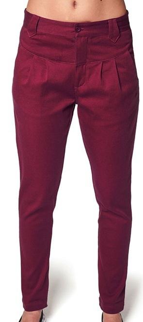 Kalhoty Horsefeathers Cookie ruby 30