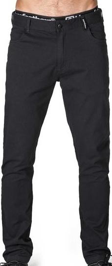 Kalhoty Horsefeathers Noel black 30