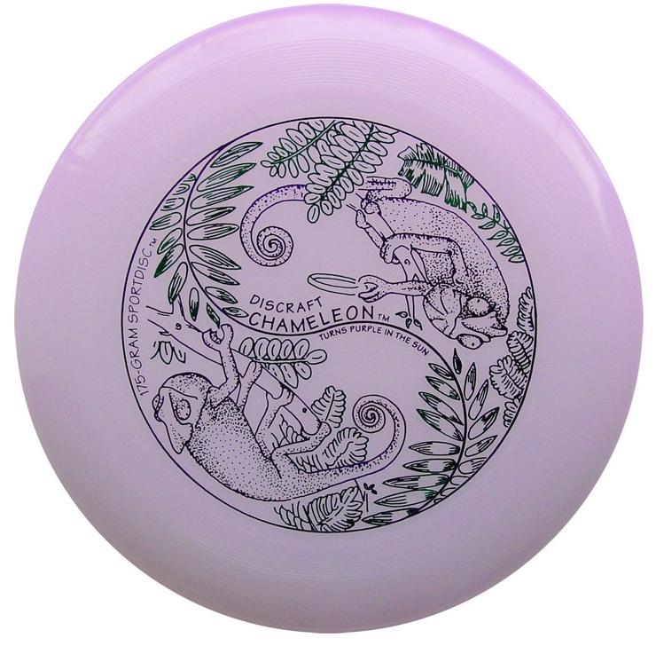 Frisbee Discraft Ultimate Ultra-star chameleon