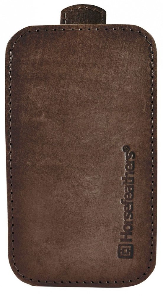 Obal na mobil Horsefeathers Todd brushed brown