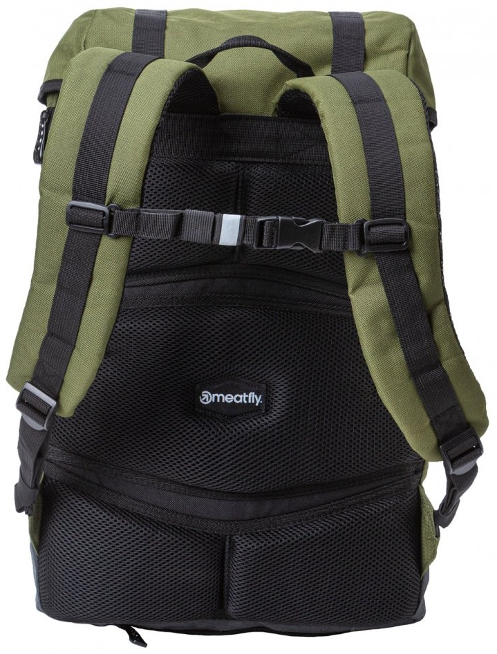 Batoh Meatfly Pioneer 4 A vivid olive, heather charcoal 26l