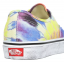 Boty Vans Authentic washed tie dye/true white