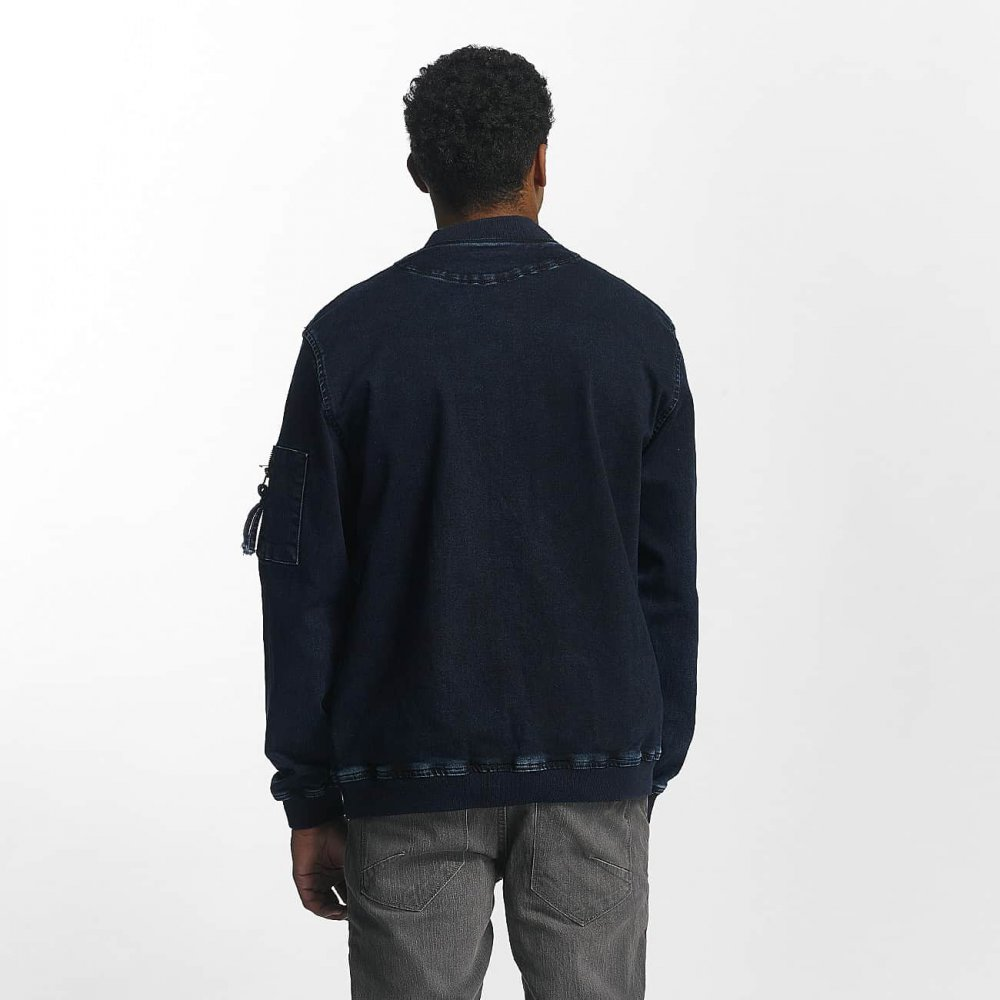 Just Rhyse / Lightweight Jacket Lennox in blue