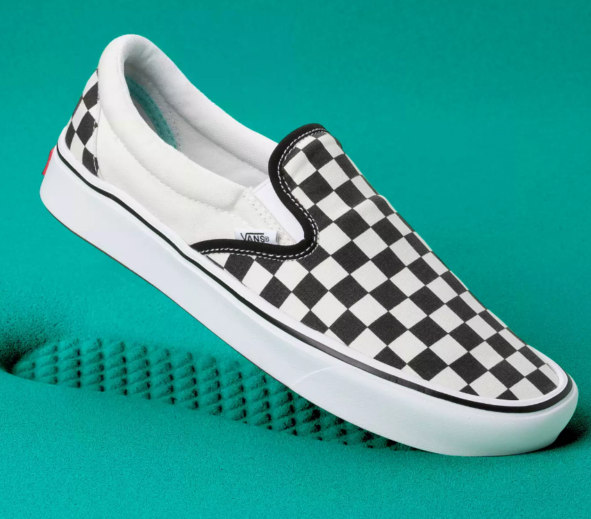 Buty Vans Comfycush Slip-On classic checkerboard/true white