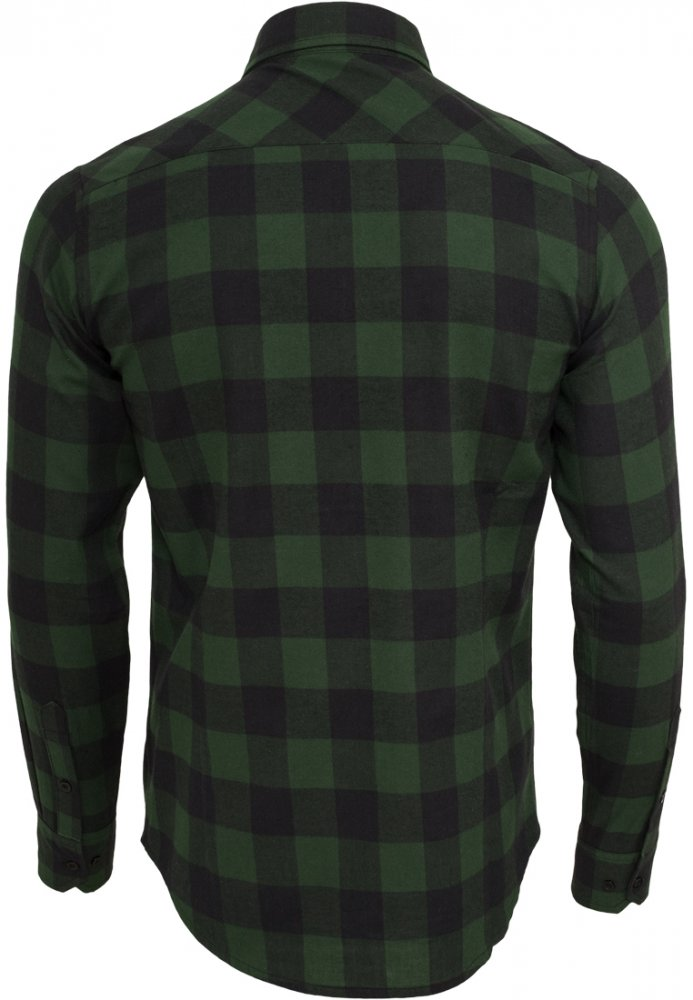 Checked Flanell Shirt - blk/forest