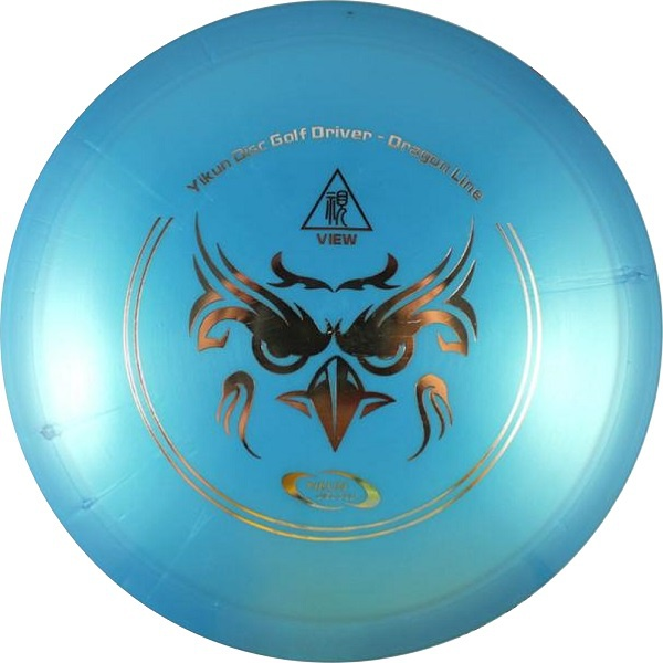Frisbee Discgolf View Driver Dragon Line blue