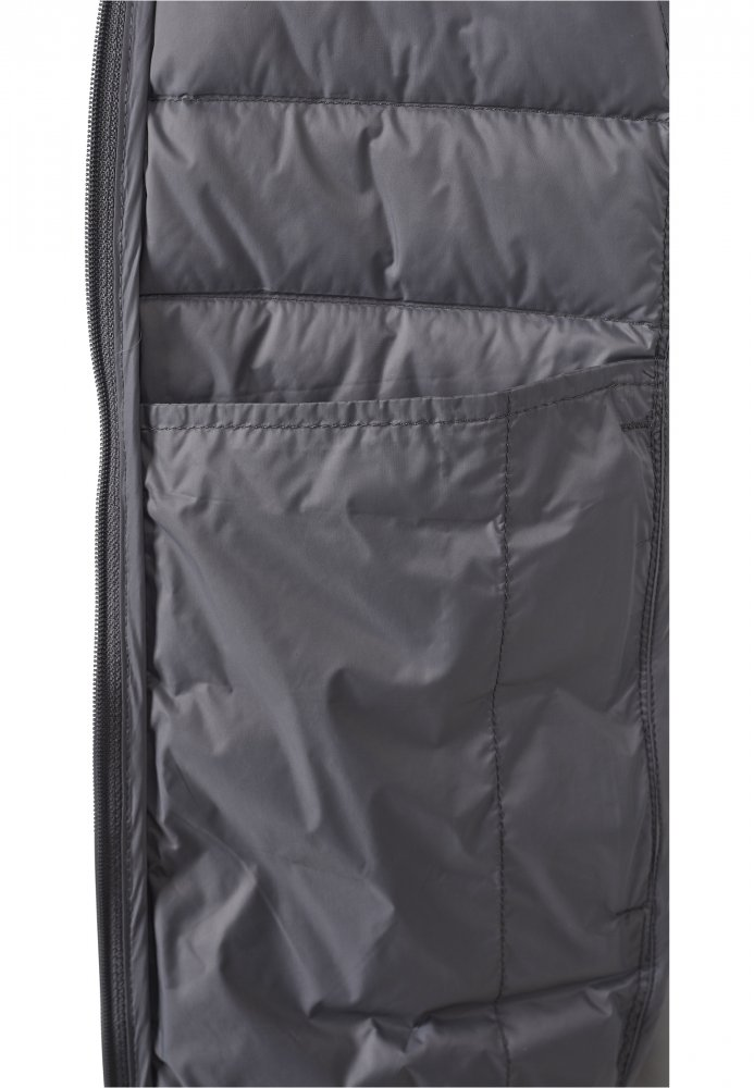 Ladies Basic Down Jacket - darkgrey
