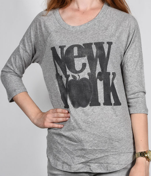 T-Shirty Element Big Apple grey heather