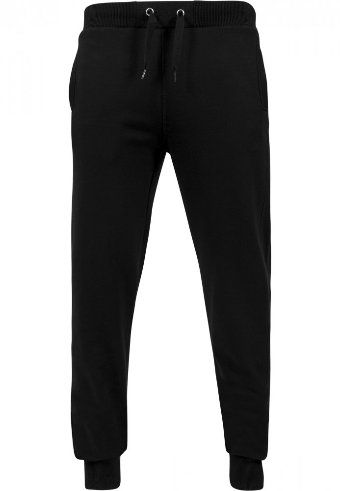 Straight Fit Sweatpants - black - Velikost: XXL