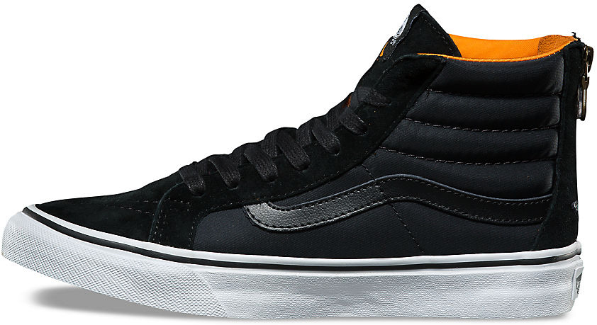 Boty Vans SK8-Hi Slim Zip black-true white