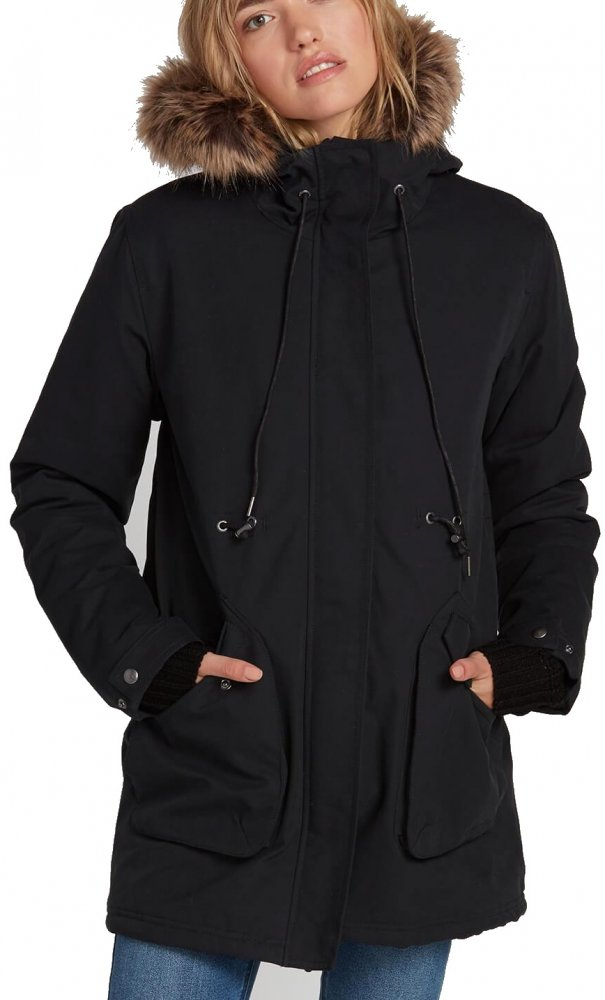 Bunda Volcom Less Is More Parka black