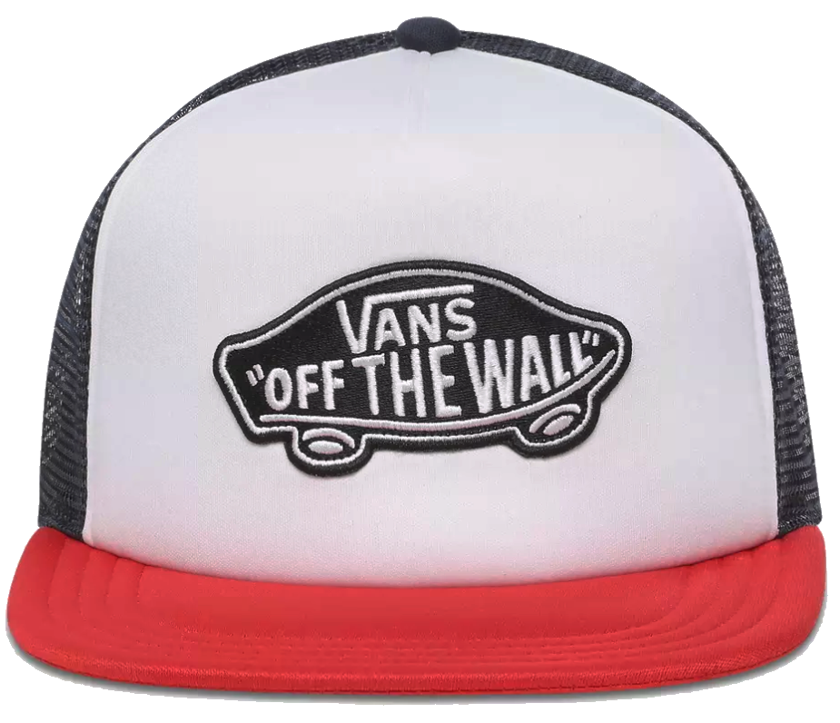 Kšiltovka Vans Classic Patch racing red-white