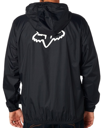 Bunda Fox Attacker Windbreaker black