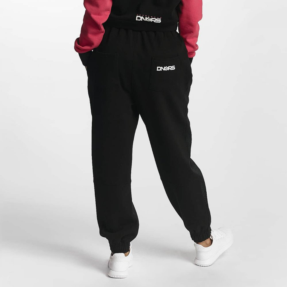 Dangerous DNGRS / Sweat Pant Windoo in black