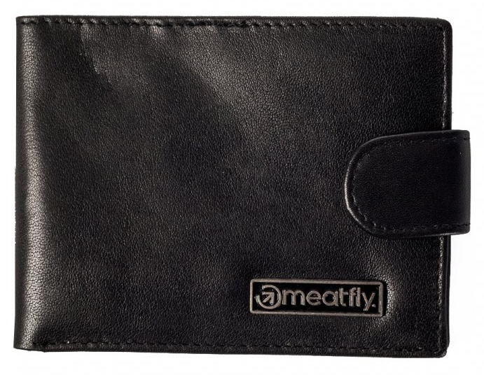 Peňaženka Meatfly Riker leather black
