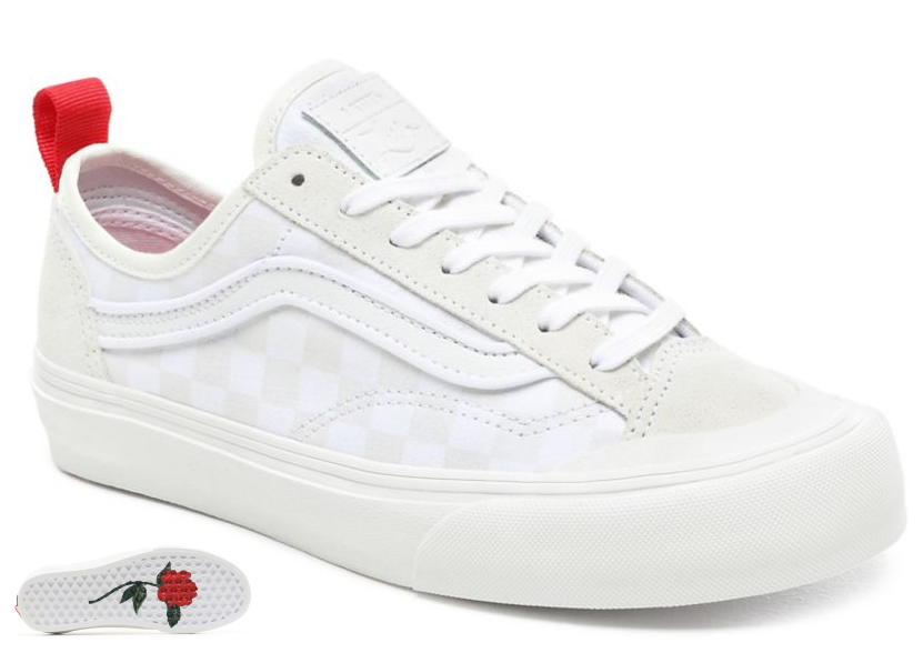 Topánky Vans Style 36Decon leila hurst white/checkerboard