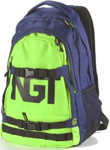 Batoh Nugget Connor navy-lime 26l