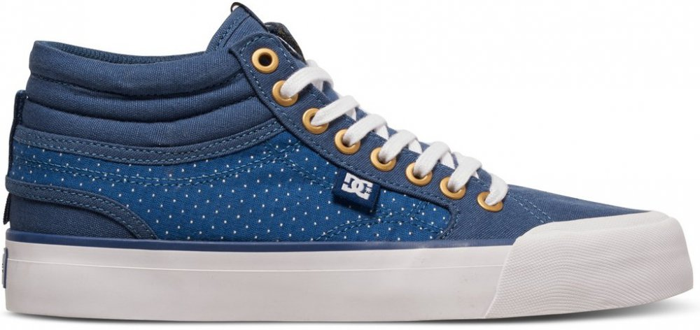 Boty DC Evan Hi Tx Se blue-brown-white