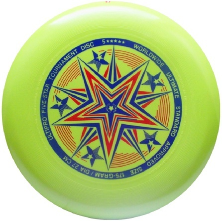 Frisbee UltiPro-FiveStar mint green