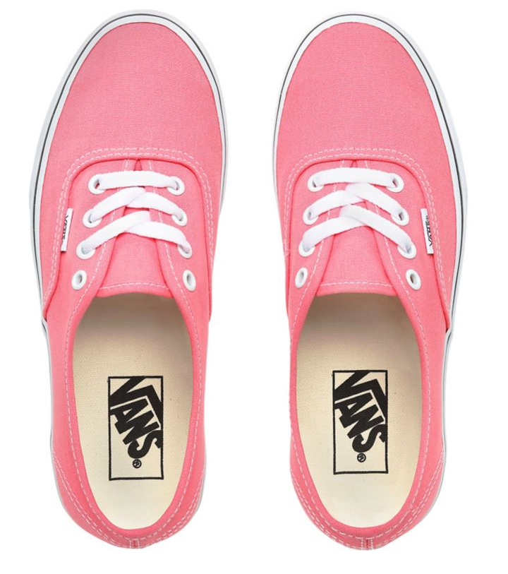 Boty Vans Authentic strawberry pink-true white