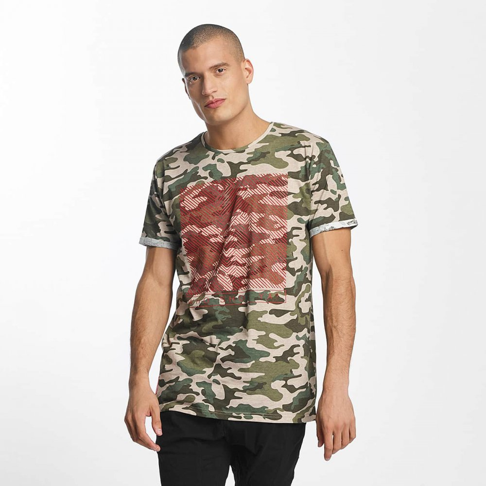 Who Shot Ya? / T-Shirt Gunshot in camouflage