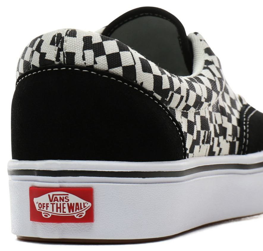 Boty Vans Comfycush Era tear check, black-true white