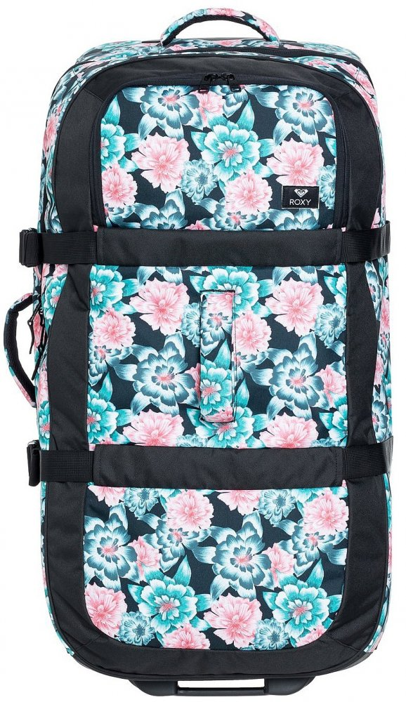 Kufor Roxy Long Haul anthracite S crystal flower 105l
