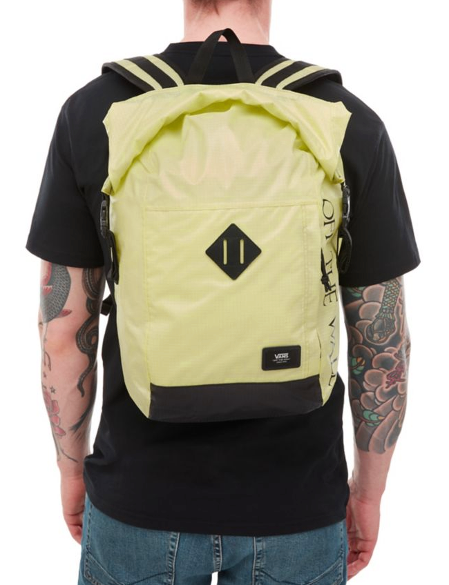 Batoh Vans Fend Roll Top sunny lime 21l