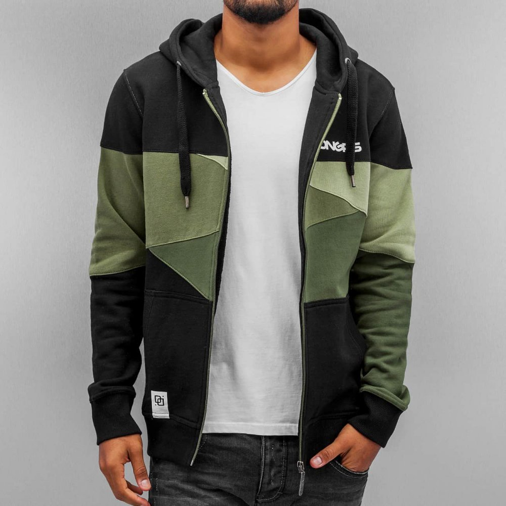 Dangerous DNGRS / Zip Hoodie Limited Edition II Race City in camouflage