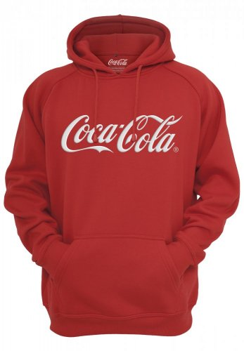 Coca Cola Classic Hoody - red