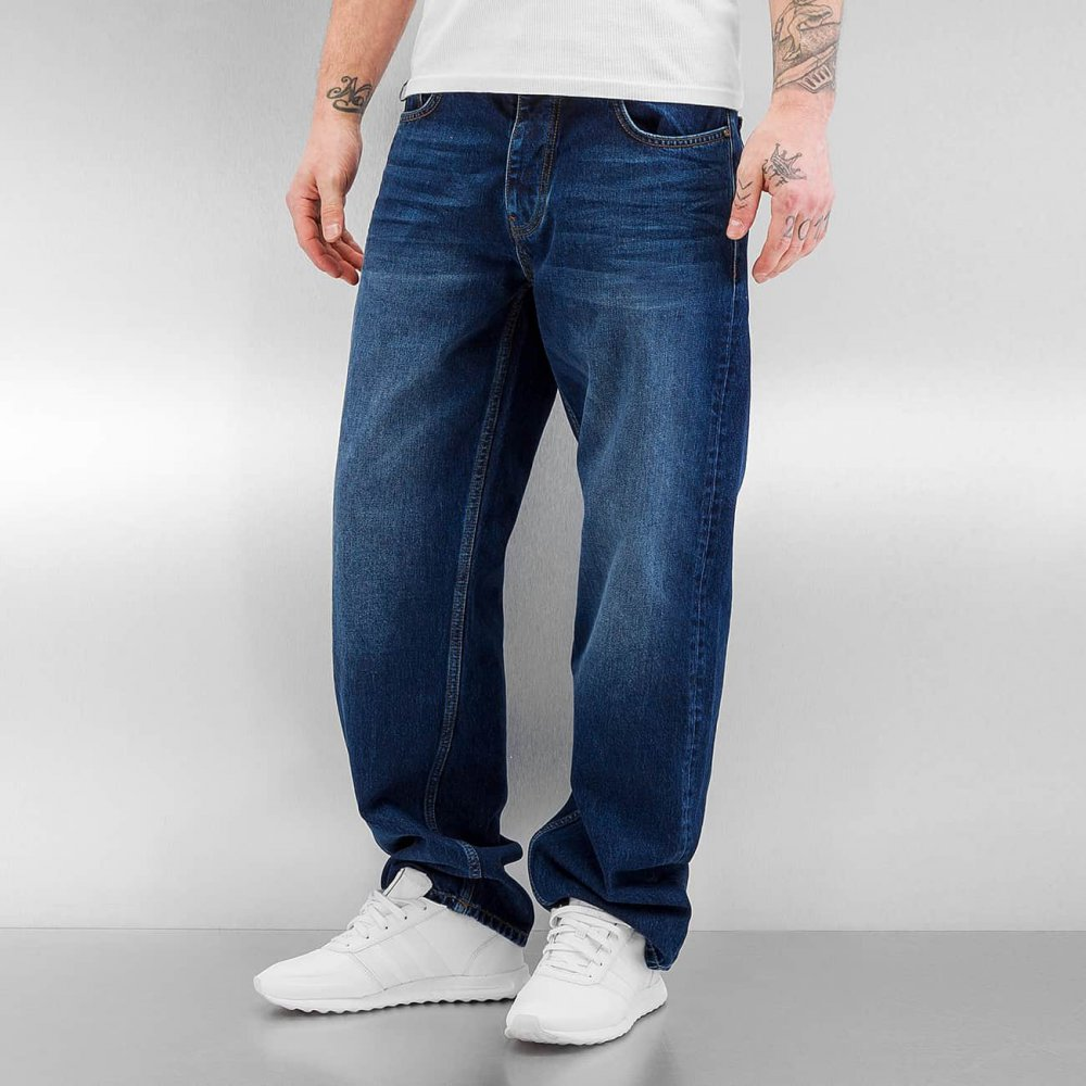 Ecko Unltd. / Loose Fit Jeans Hang in blue