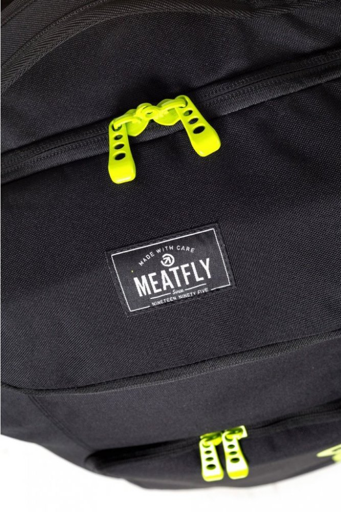 Kufr Meatfly Contin 2 Trolley Bag black 100l