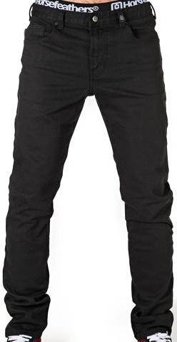 Kalhoty Horsefeathers Nate black 30