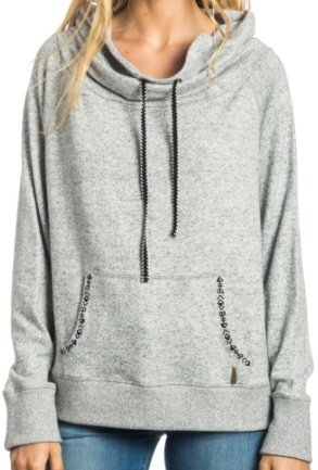 Mikina Rip Curl Coquimbo Fleece cement marle L