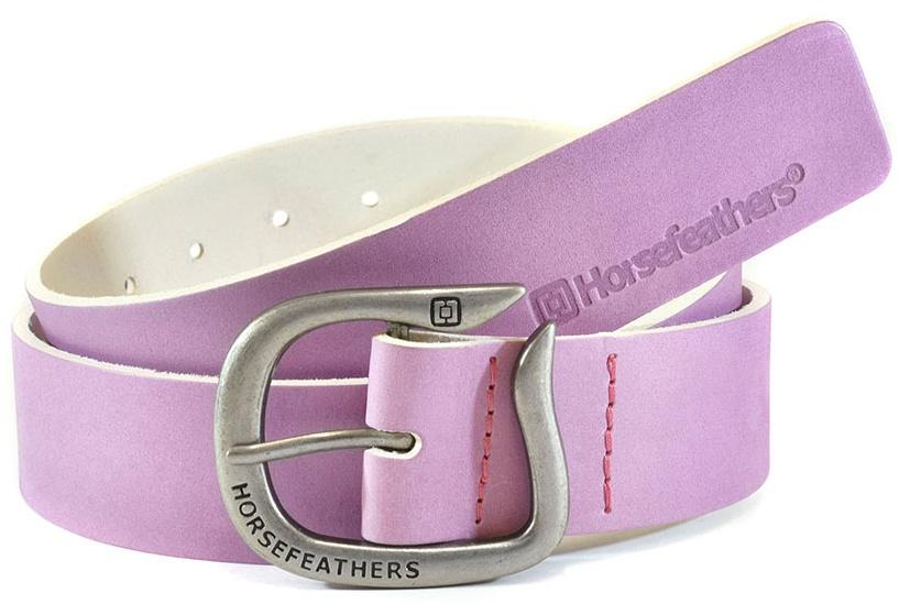 Pásek Horsefeathers Ellie lilac