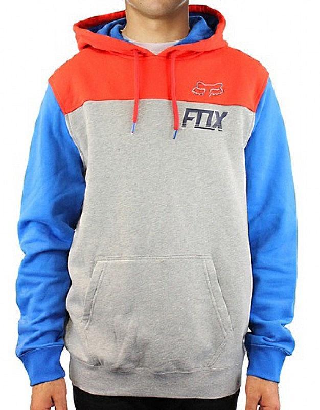 Mikina Fox Latch heather grey XL