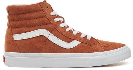 62e67ddfbf8 Boty Vans SK8-Hi Reissue leather brown-true white 37