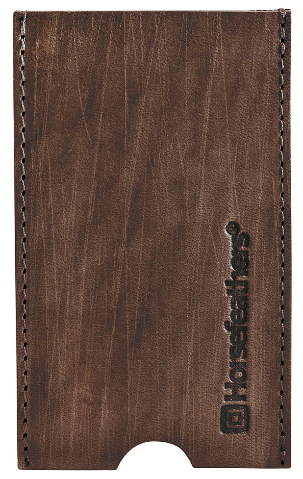 Obal na mobil Horsefeathers Flynn brushed brown