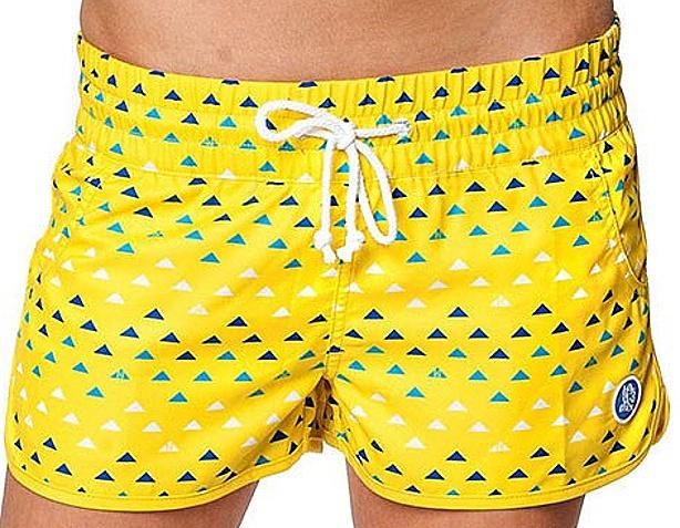f40ad8482f2 Koupací kraťasy Horsefeathers Ola yellow 28
