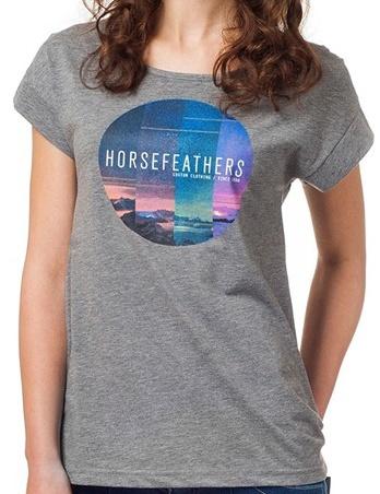 Tričko Horsefeathers Faraway heather gray M