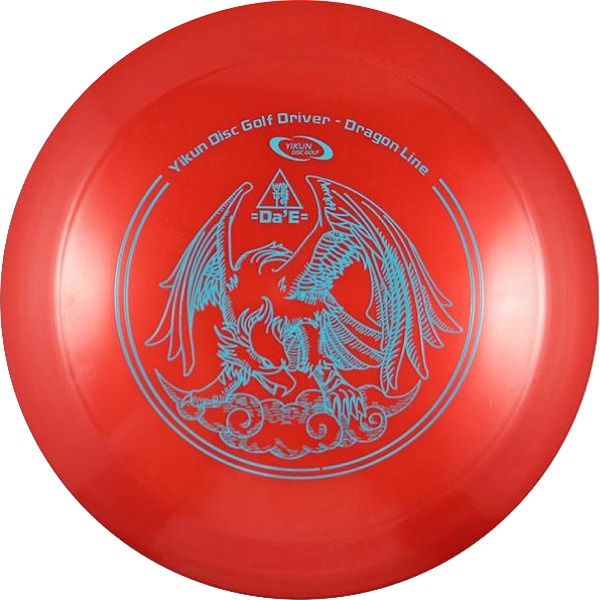 Frisbee Discgolf View Driver Dragon Line red
