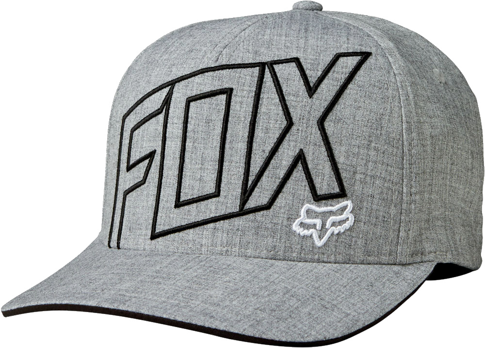 Kšiltovka Fox Three 60 Flexfit heather grey L XL 3105298260