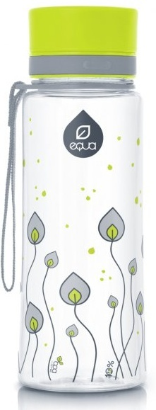 Láhev Equa green leaves 600 ml