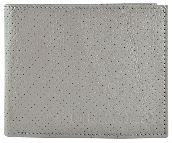 Peněženka Horsefeathers Gear perforated gray